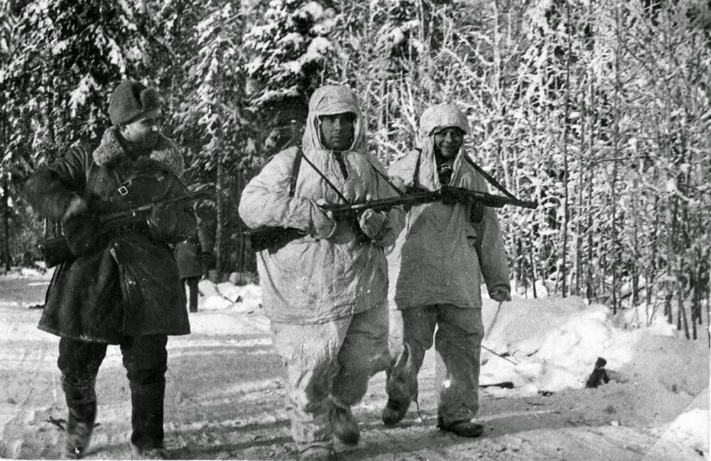 Документальное фото, в разведку, 1941 год