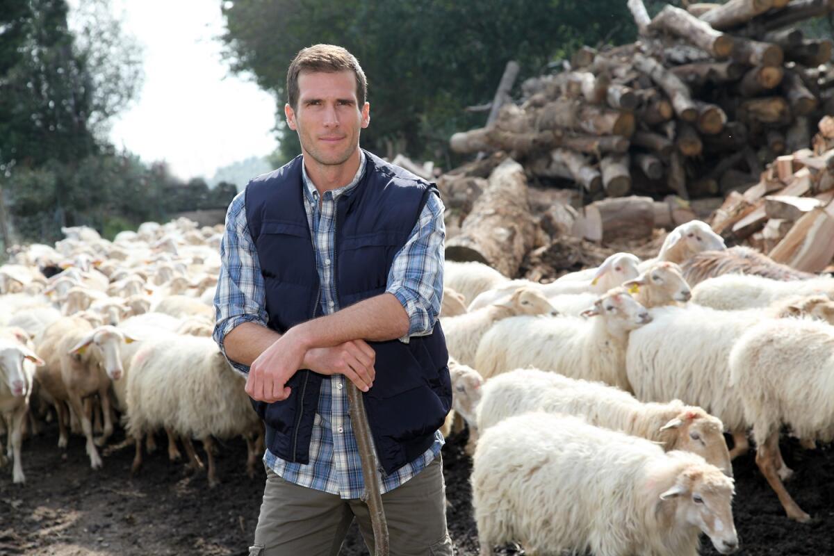Посох - извечный спутник пастуха