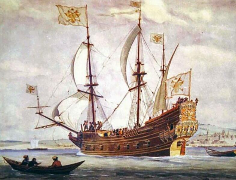 Первый русский военный парусник «Орёл»