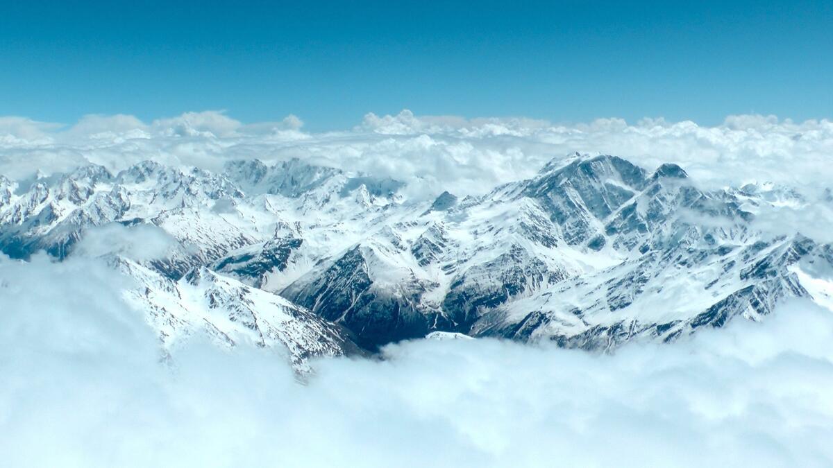 Величественная панорама кавказских гор