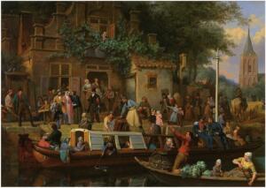 История общественного транспорта. Как ездили в Голландии семнадцатого века?