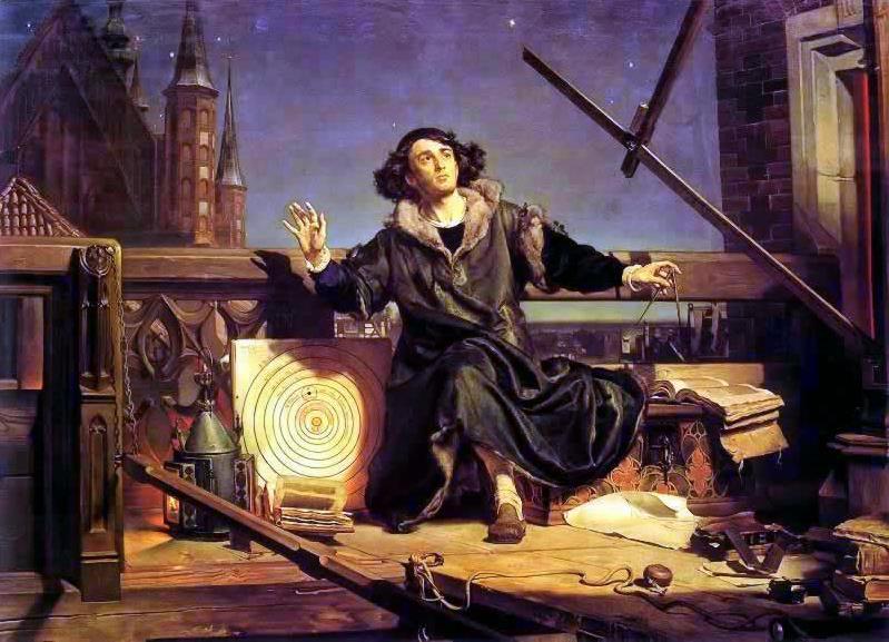 Я. Матейко, «Коперник. Беседа с Богом», 1872 г.