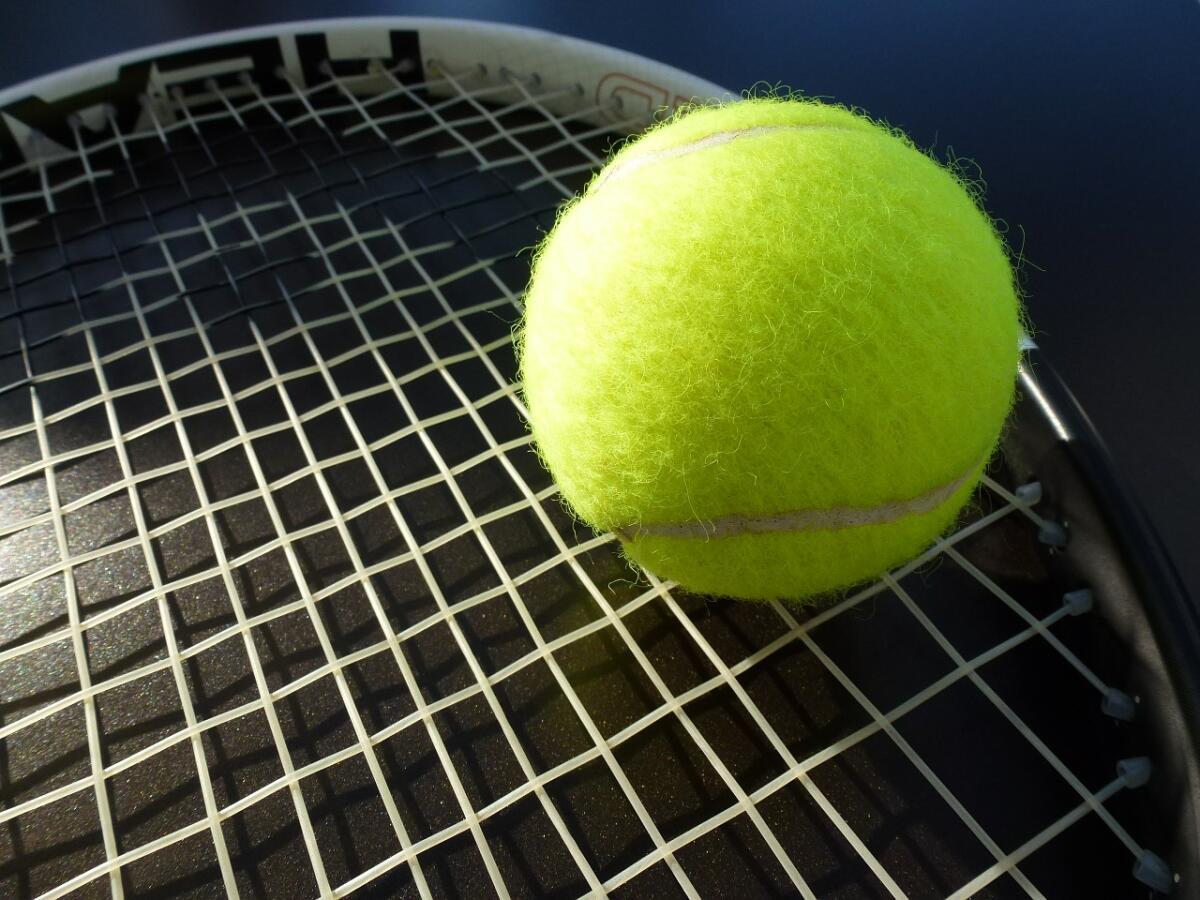 Теннисный мяч - идеальный снаряд для отработки ударов