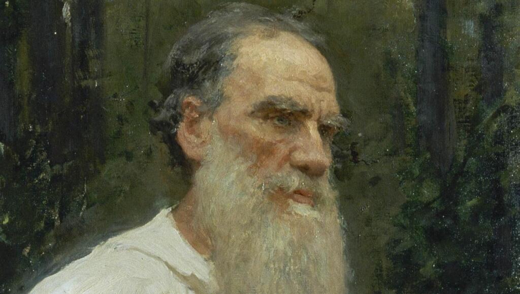 И. Е. Репин, «Толстой, одетый в крестьянскую одежду»