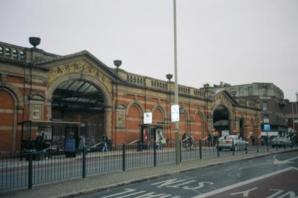 Вокзал Лестер Кэмпбелл-Стрит, место рождения организованного туризма
