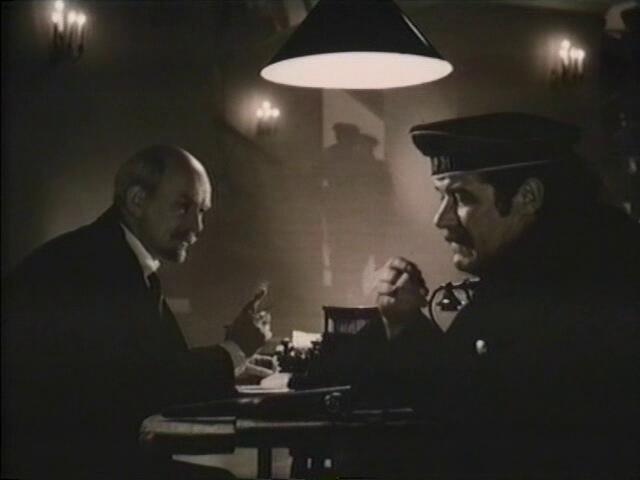 В. И. Ленин встречается с матросом