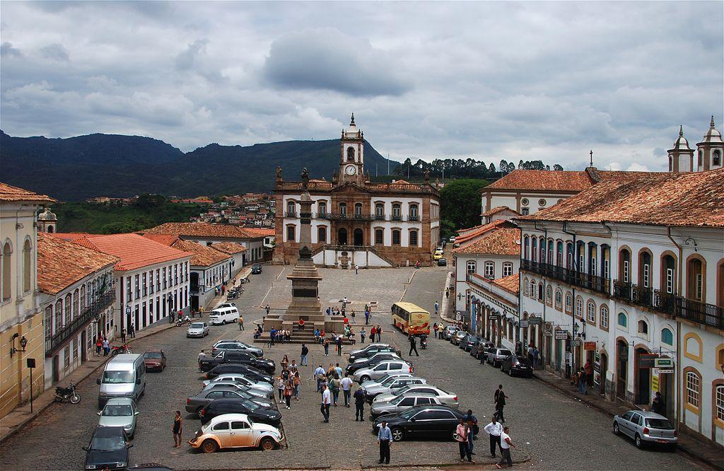 Главная площадь Ору-Прету— Praça Tiradentes