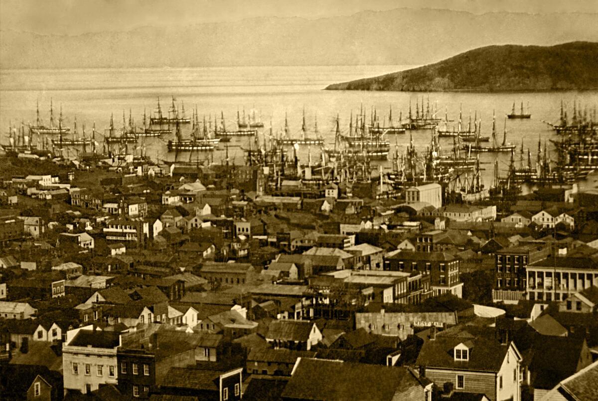 Сан-Франциско в 1851 году