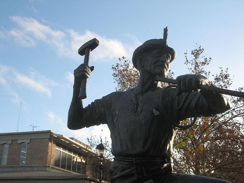 Памятник старателям в городе Бендиго