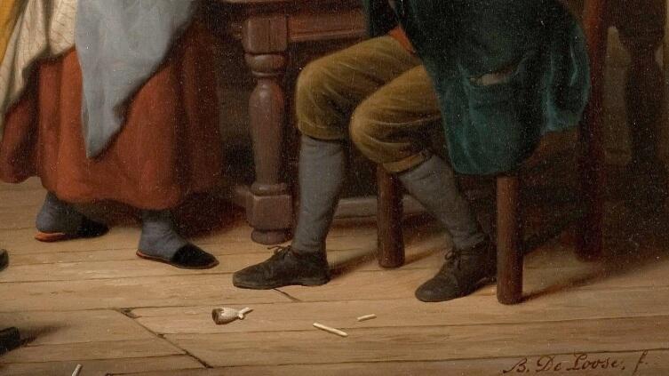 """Базиль де Луз, Старый развратник, фрагмент """"Обувь"""""""