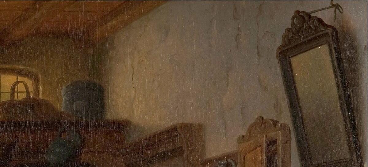 Базиль де Луз, Старый развратник, фрагмент