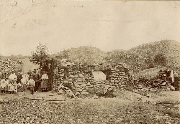 Дом рабочих золотого прииска. Минусинск, 1911 год