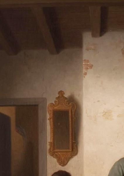 """Базиль де Луз, Печем вафли, фрагмент """"Зеркало и стена"""""""