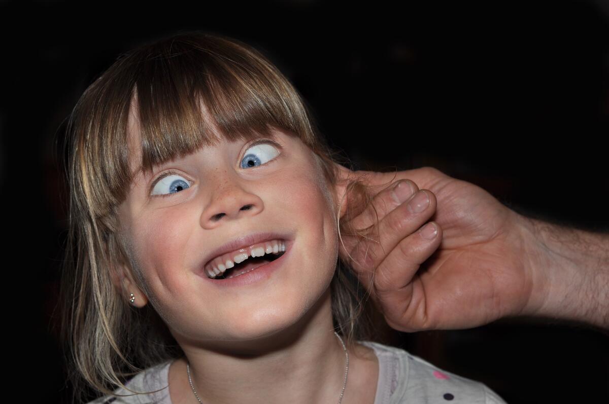 Хорошо промассированные уши дают неземные ощущения