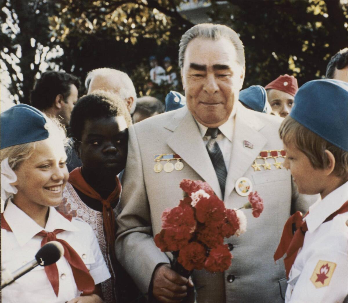 Л.И. Брежнев в Артеке