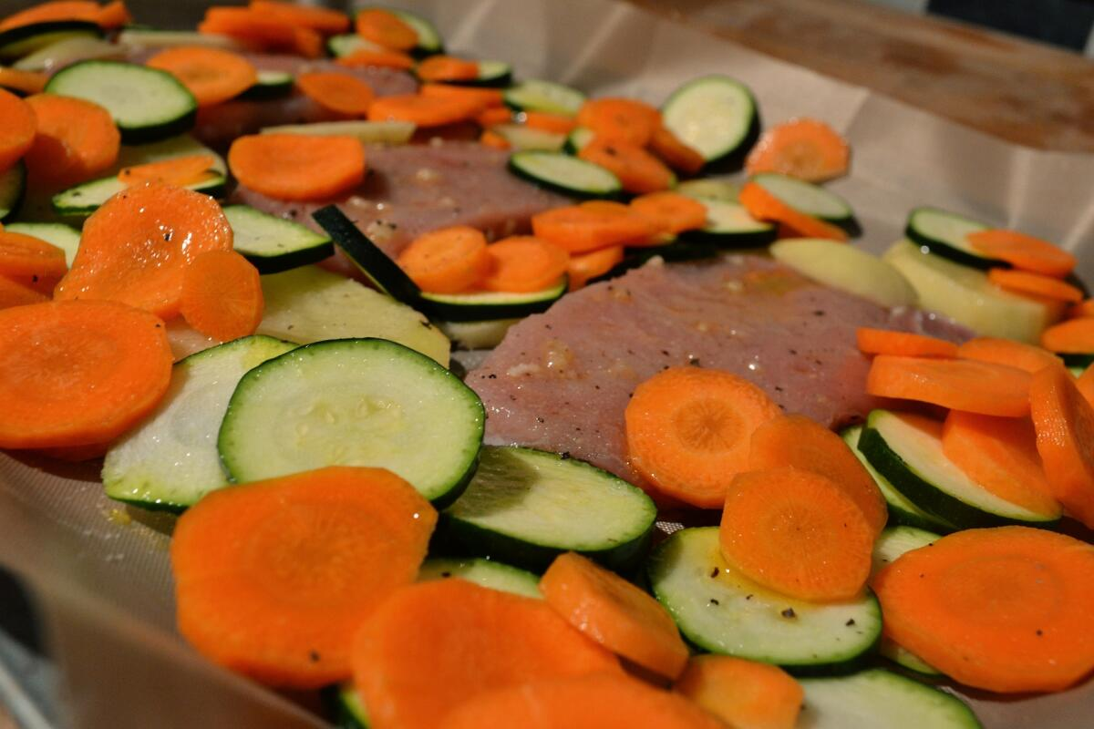 Кабачки с мясом и овощами - вкусно, если не каждый день