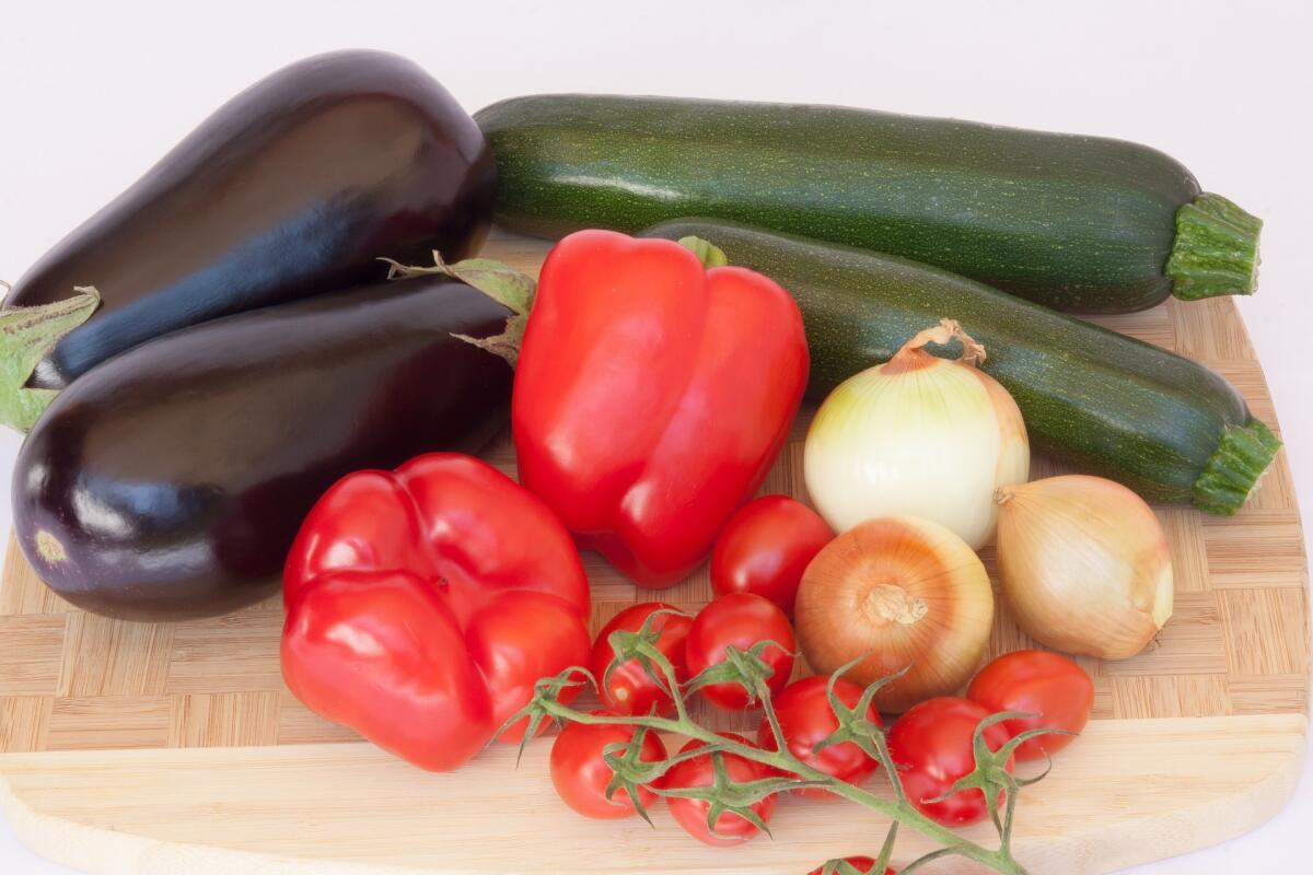 А из этого набора овощей выйдет вкусный рататуй