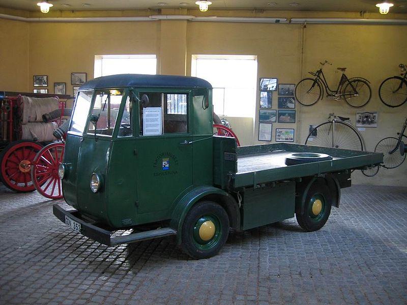 Электромобиль-грузовик 1943 года постройки, Швеция