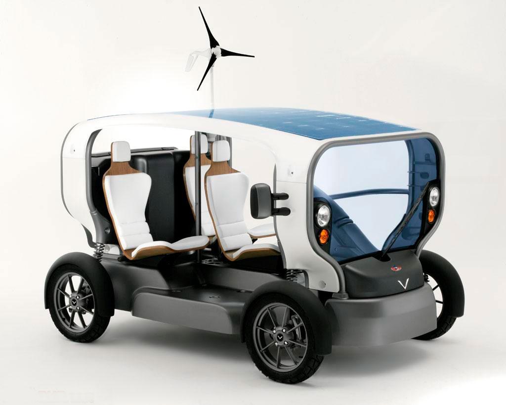 Автомобиль Ecletic разработан компанией Venturi