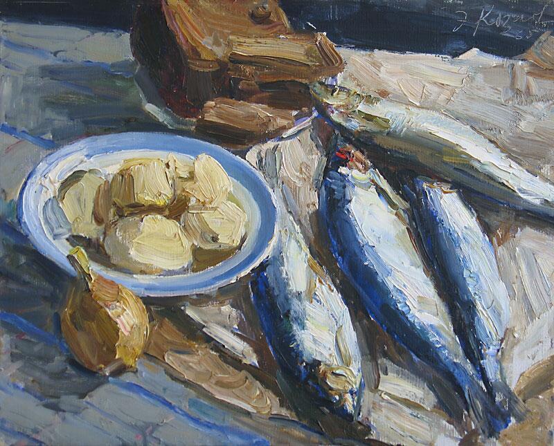 Э. Козлов, «Синяя селёдка», 1965 г.