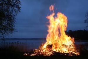 Сказка. Какими красками горит огонь?