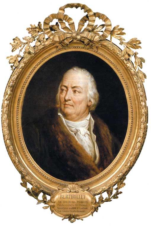 Клод Луи Бертолле, портрет ученого из Политехнической школы