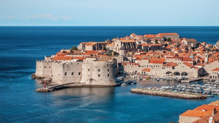 Город Дубровник, вид на «Старый Город»