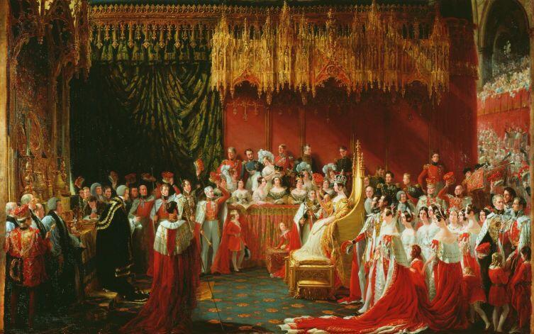 Коронация королевы Виктории 28 июня 1838 года, 1838, Королевская коллекция, Лондон, Англия