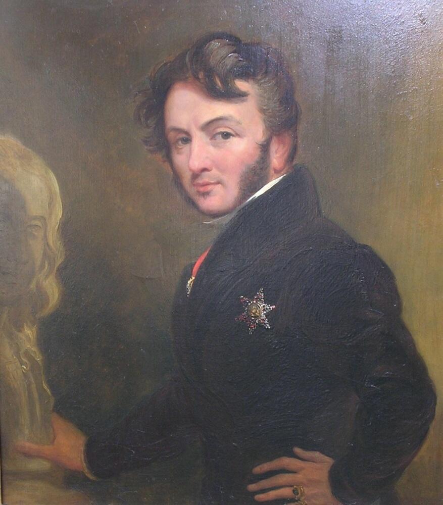 Автопортрет, 1843, частная коллекция