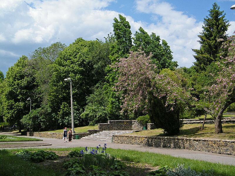 В парке Шевченко, г. Ровно