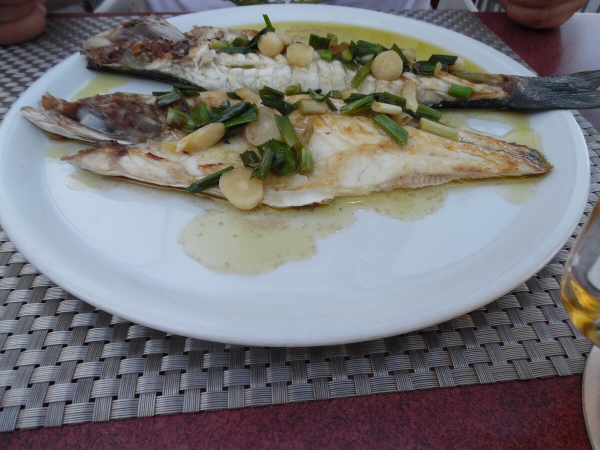 Хек - одна из популярнейших рыб у испанцев