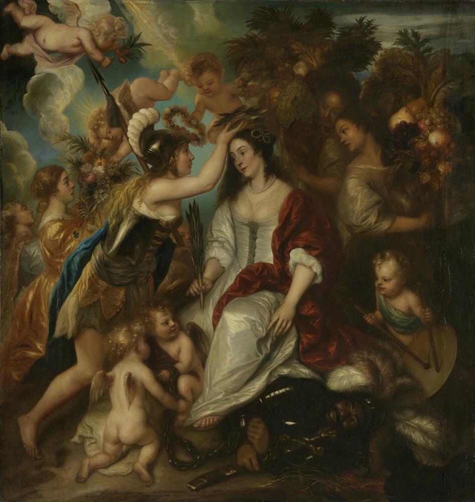 Ян Ливенс, Аллегория мира, 1652, 217х211 см, Rijksmuseum, Амстердам, Нидерланды