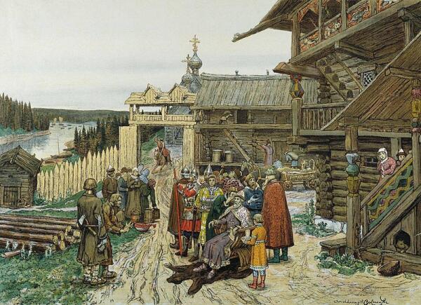 Какие законы в Древней Руси защищали женщин, стариков и семью?