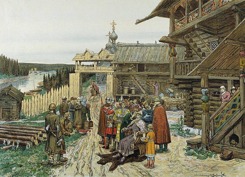 расторжение брака в древней руси