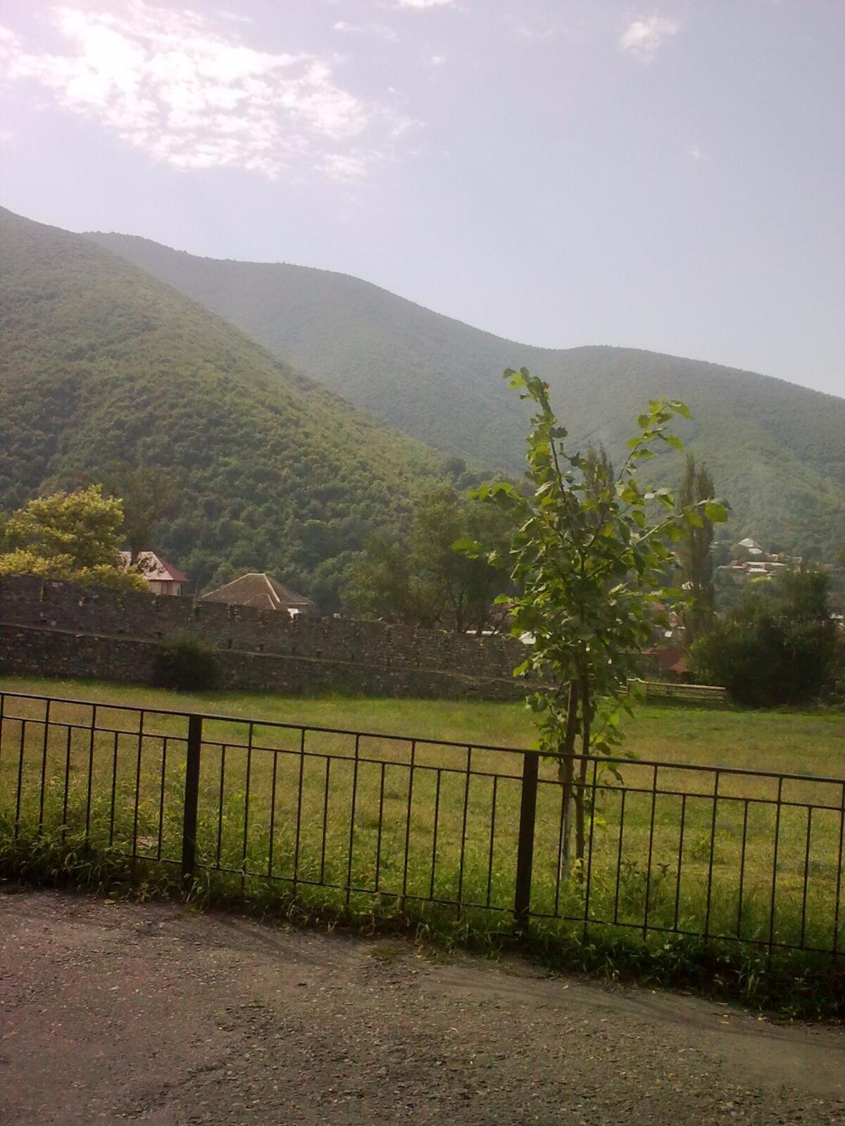 Величественные склоны Кавказа