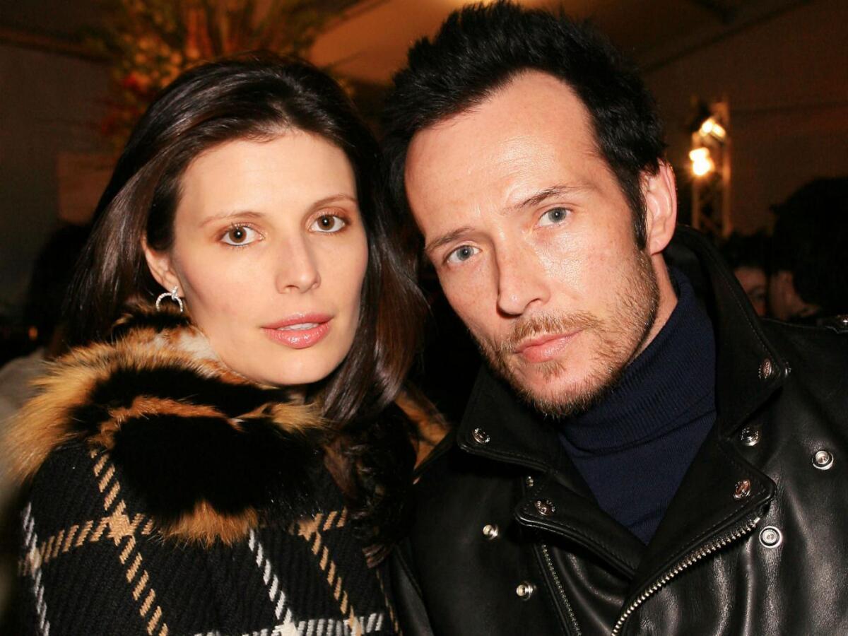 Скотт с бывшей женой Мэри Форсберг