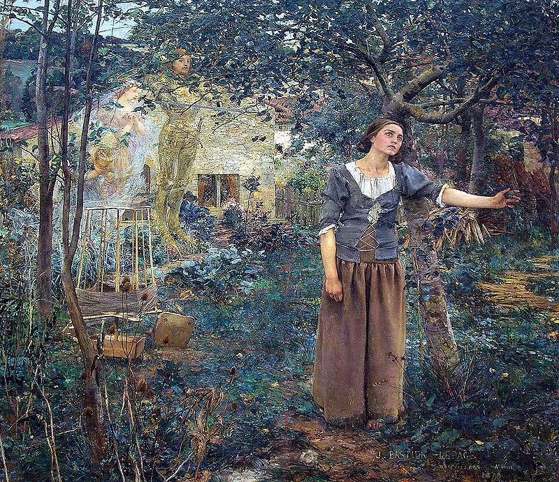 Жюль Бастьен-Лепаж, «Видение Жанны д'Арк», 1879 г.