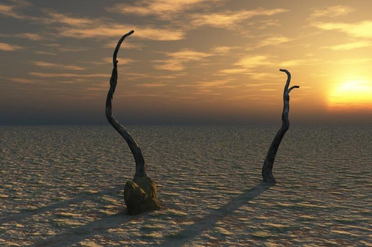 Безводная пустыня
