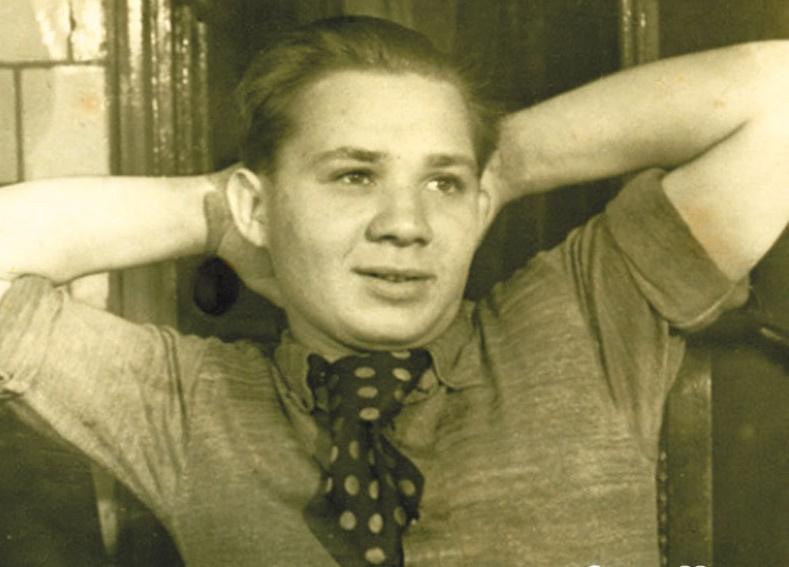 Евгений Павлович в молодости