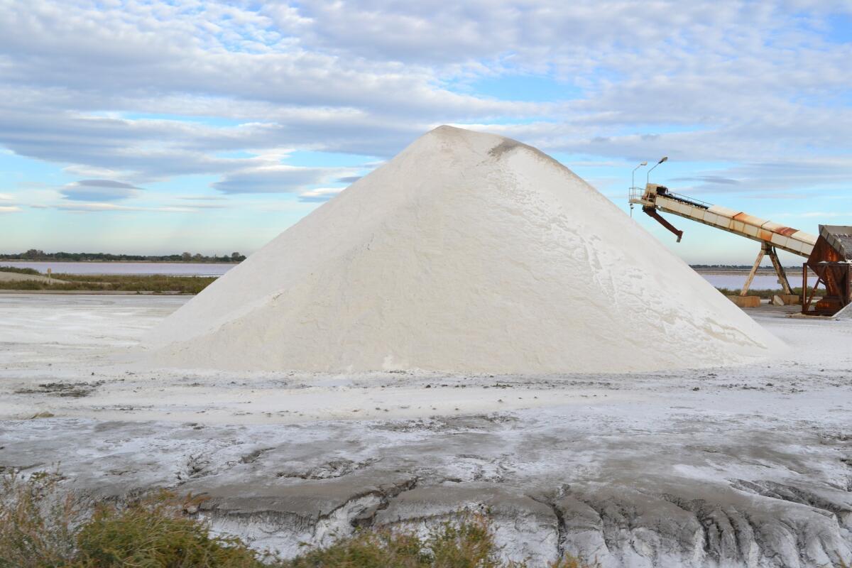 Промышленные способы добычи обеспечивают низкие цены на соль
