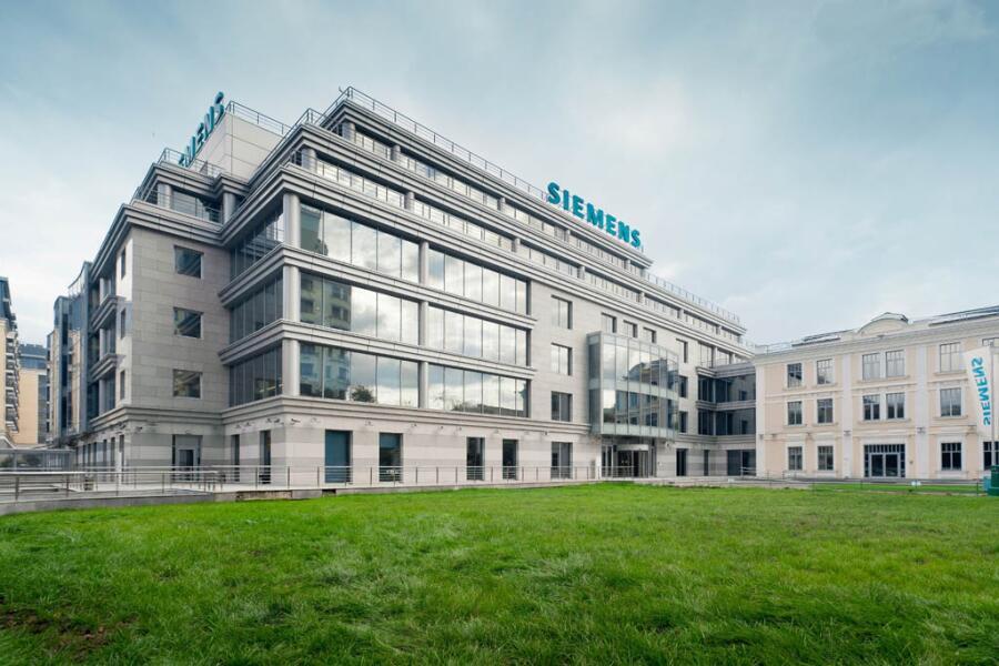 Штаб-квартира «Siemens» в России