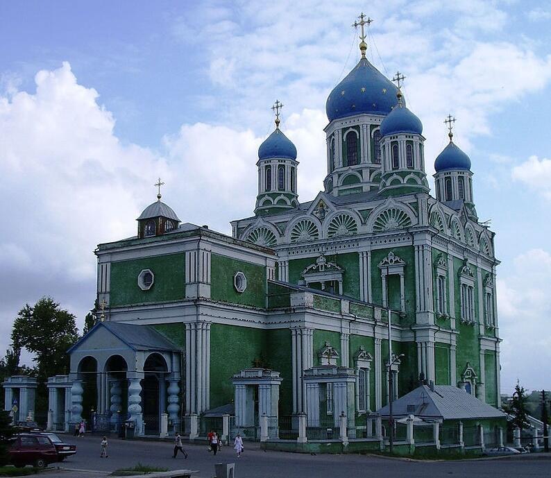 Вознесенский собор, главный храм города Ельца