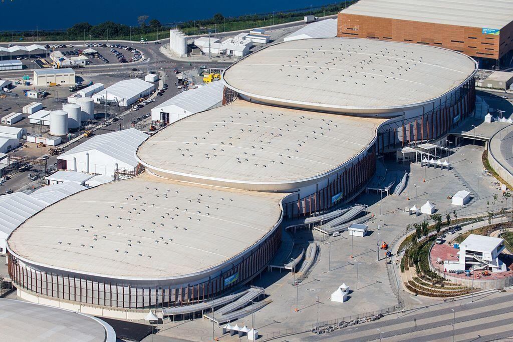 Матчи по баскетболу проходили на стадионе Арены Кариока 1 (правой из трёх овалов)