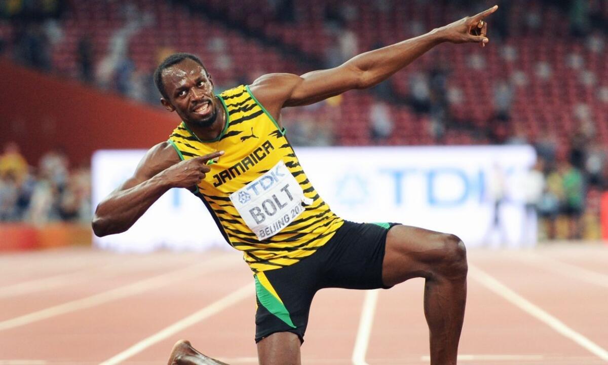 Усэйн Болт - ямайский легкоатлет