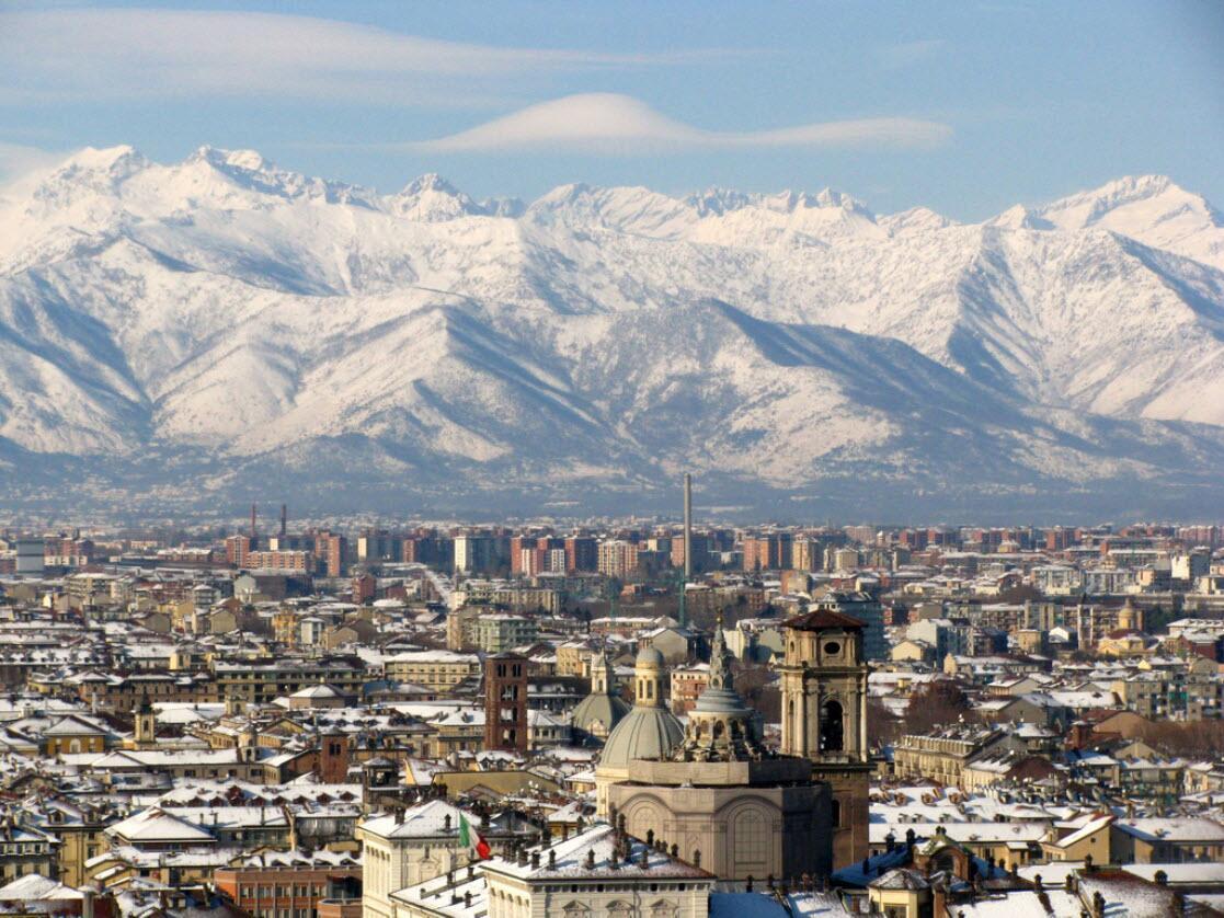 Панорама Турина