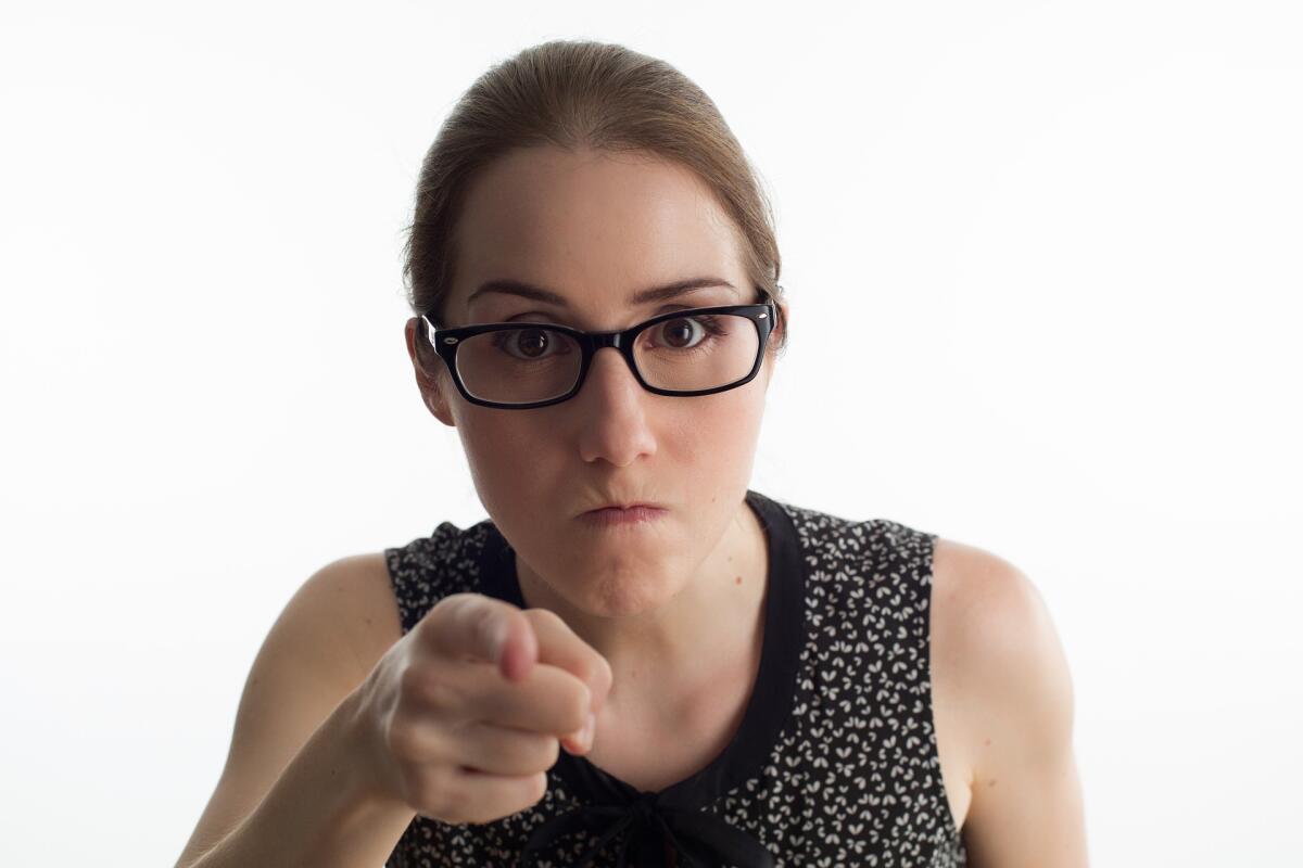 Просто скажите оппоненту: «Я рассержена на тебя, потому что…»