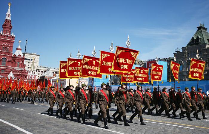 Генеральная репетиция военного парада Победы на Красной площади, 2015 г.