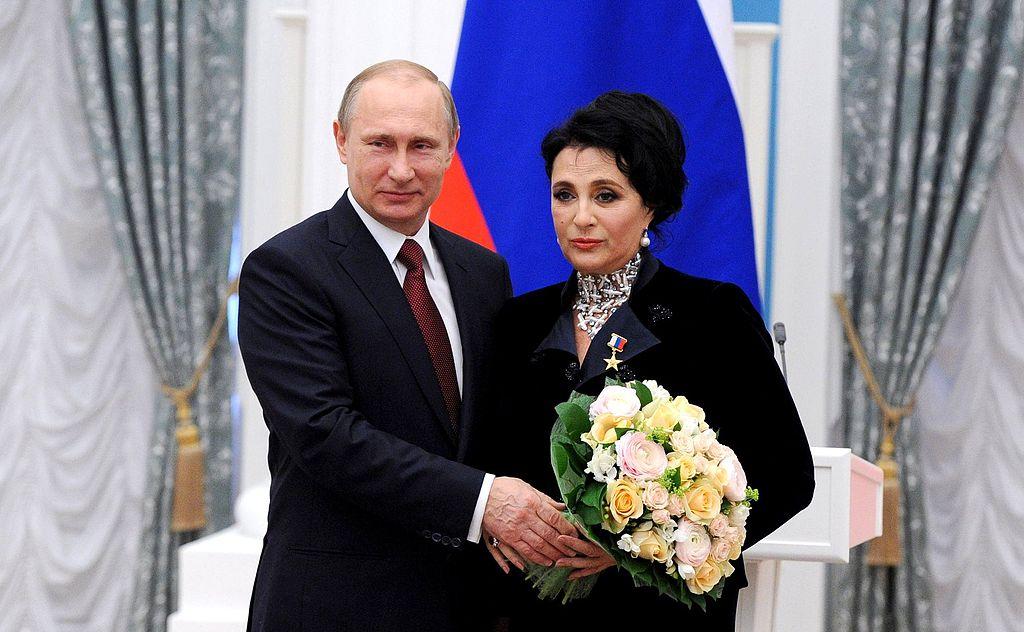 Награждение медалью «Герой Труда Российской Федерации», 1 мая 2015 года