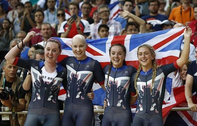 Британские велосипедистки