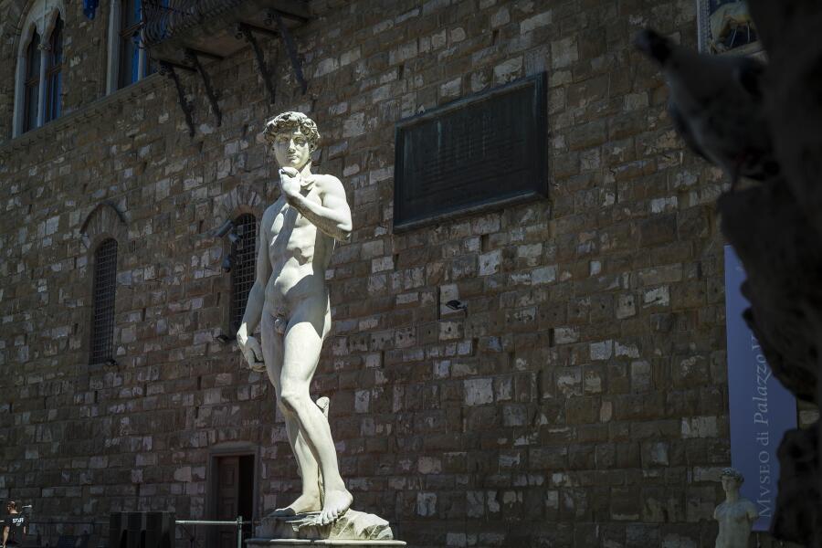 Статуя «Давид» во Флоренции